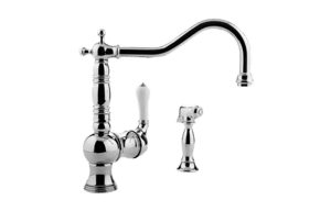 Canterbury Kitchen Faucet w/ Side Spray Product Image