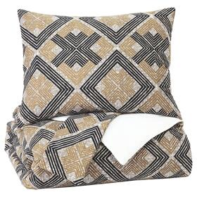 Scylla 3-piece King Comforter Set