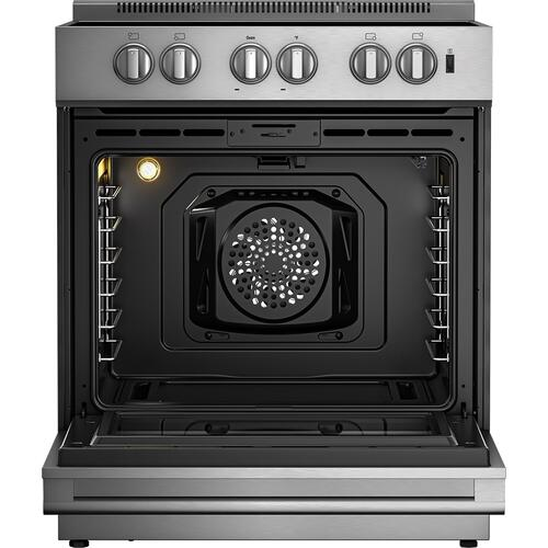 Blomberg Appliances - 30in Induction range, slide-in style