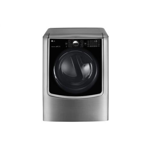 LG - 5.5 Total Capacity LG TWINWash™ Bundle with LG SideKick™ and Electric Dryer
