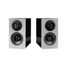 """See Details - Mid-Sized Bookshelf Loudspeakers with a 5.25"""" Midrange/Woofer (Pair)"""