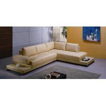 Divani Casa 2226 Beige Sectional Sofa set