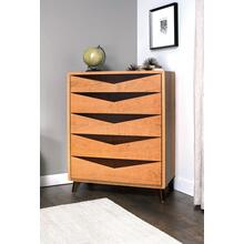Elroy 5-Drawer Chest, 2-Tone Standard