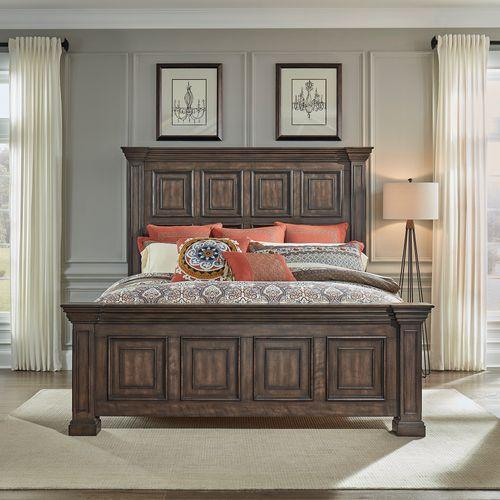 Gallery - King Panel Bed