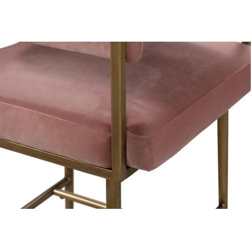 Product Image - Astrid Blush Velvet Counter Stool