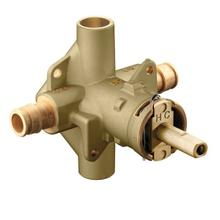 "POSI-TEMP includes bulk pack posi-temp® 1/2"" cold expansion pex inlets/cc outlets connection pressure balancing"