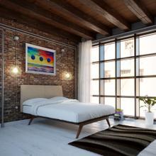 See Details - Tracy 4 Piece Queen Bedroom Set in Cappuccino Latte