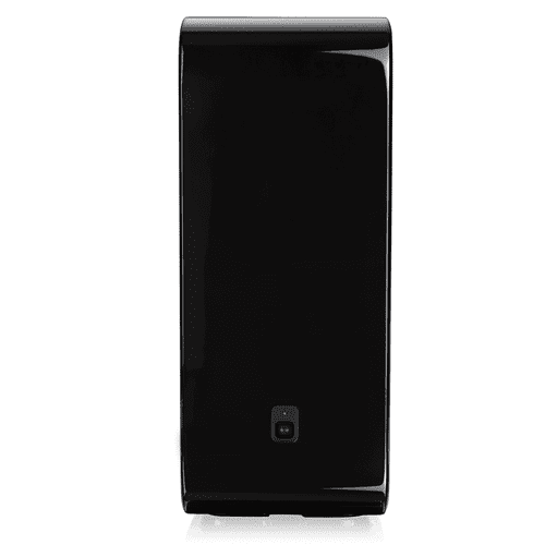 Black- The subwoofer for more intense bass