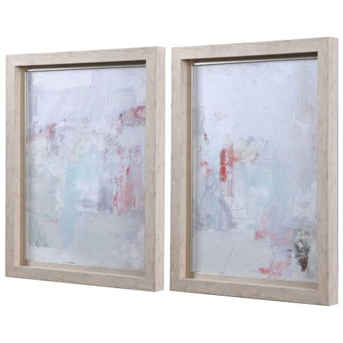 Barely There Framed Prints, S/2