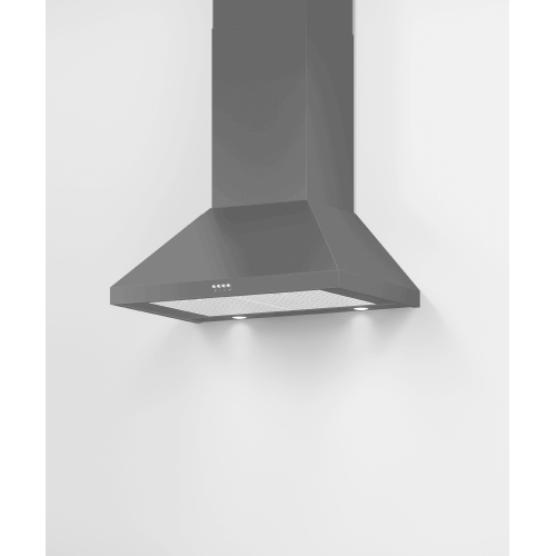 "Wall Range Hood, 30"", Pyramid Chimney"