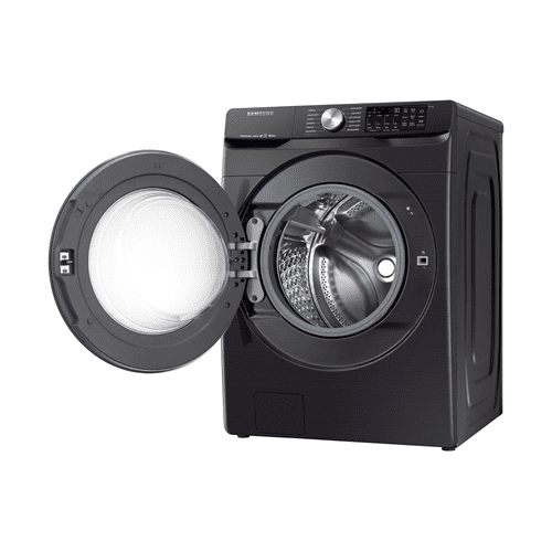 5.2 cu. ft. Smart Front Load Washer with Super Speed in Black Stainless Steel