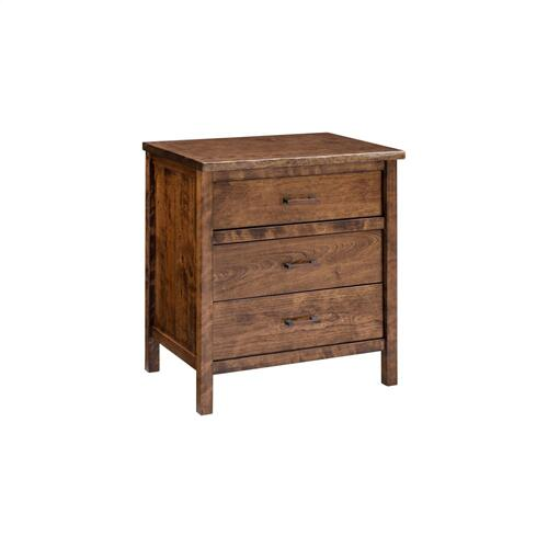 Laurel Summit 3 Drawer Nightstand