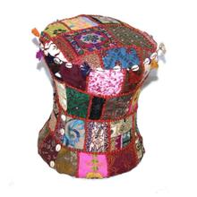 Patchwork Embroidery Stool