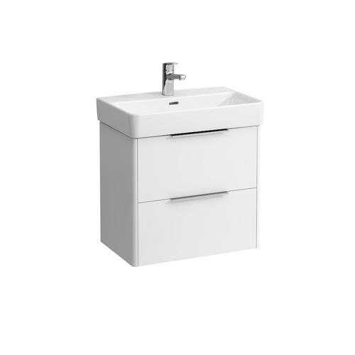 Traffic Grey Vanity unit, 2 drawers, matching washbasin 818959