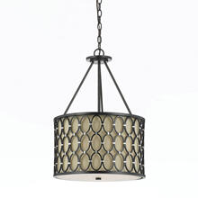 AF Lighting 8102 Pendant in Oil Rubbed Bronze, 8102-3H