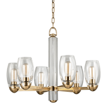 Chandelier - AGED BRASS