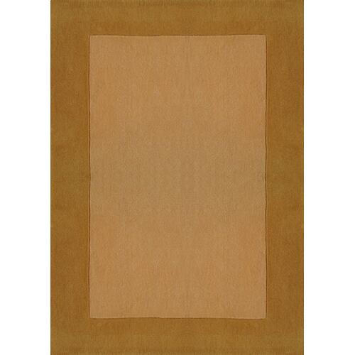 Durable Hand Tufted Transition Solid Gold Area Rug by Rug Factory Plus - 5' x 7' / Solid Gold