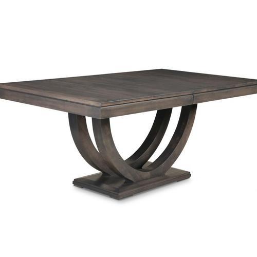 - Contempo Pedestal 54x84+3-12 Dining Table