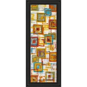 """""""Square Abstract"""" Framed Print Wall Art"""