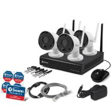 490 Series 1080p Wi-Fi® Surveillance System Kit with 1 TB NVR and 4 Cameras