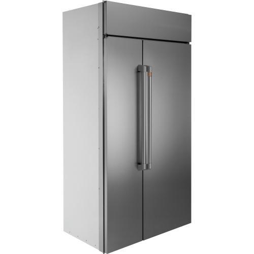 "GE Appliances - Café 48"" Built-In Side-by-Side Refrigerator"