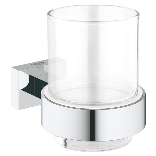Essentials Cube Glass With Holder