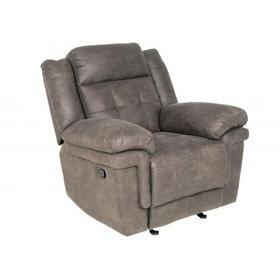 Anastasia Glider Recliner Chair, Grey