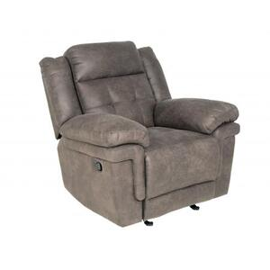 Anastasia Glider Recliner Chair, Grey