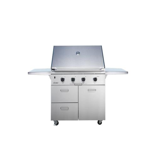 """Dacor - 36"""" Outdoor Grill, Stainless Steel, Liquid Propane"""