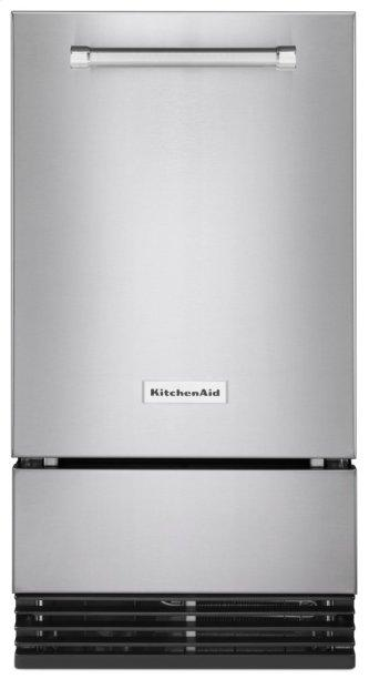 18'' Automatic Ice Maker with PrintShield Finish - Stainless Steel with PrintShield™ Finish
