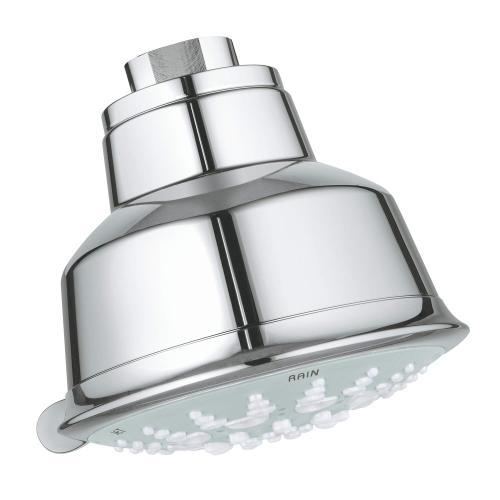 "Relexa Rustic 100 Shower Head, 4"" - 5 Sprays, 1.75 Gpm"
