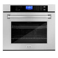 View Product - ZLINE 30 in. Professional Single Wall Oven with Self Clean (AWS-30) [Color: DuraSnow® Stainless Steel]