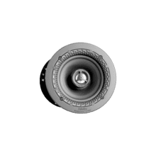 """See Details - Disappearing Series Round 4.5"""" In-Wall / In-Ceiling Speaker"""