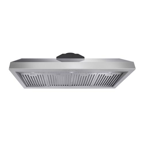 Product Image - 48 Inch Professional Range Hood, 11 Inches Tall In Stainless Steel