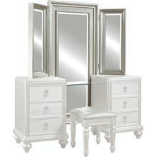 See Details - Diva Vanity Tri-View Mirror