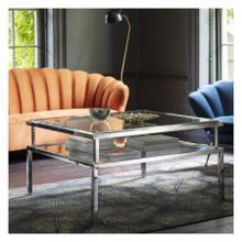 GA Salerno Coffee Table Silver