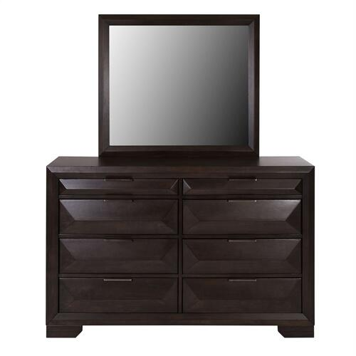 King California Storage Bed, Dresser & Mirror, Chest, N/S