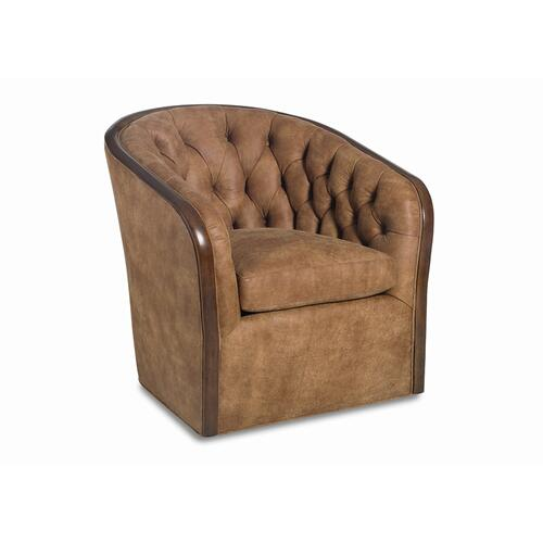 Sybil Tufted Swivel Chair