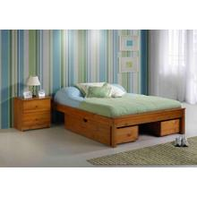 53 KD UBC Fits On Both Sides of Any Size Pecan Bed