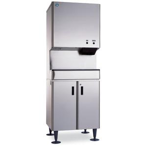 DCM-500BWH, Cubelet Icemaker, Water-cooled, Built in Storage Bin