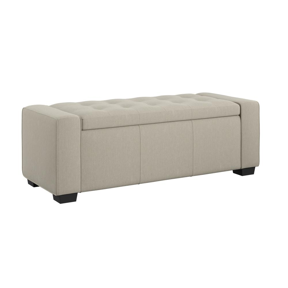 Gavyn Upholstered Storage Bench, Wheat U3310-36-09