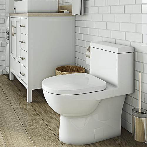 White VISTA II One-Piece Toilet