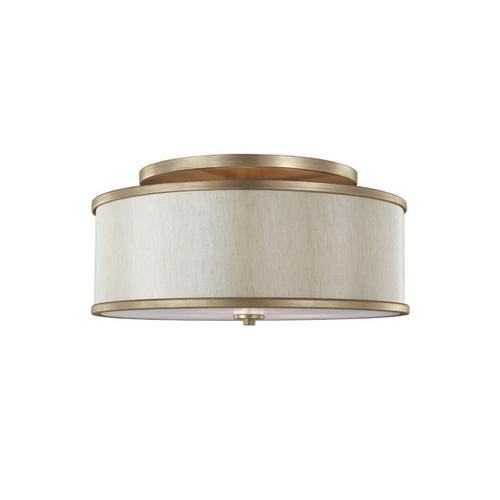 Lennon Medium Semi-Flush Mount Sunset Gold