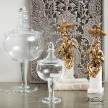 Glass Apothecary Jar-Lg