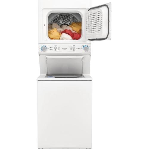 Scratch & Dent  Frigidaire Gas Washer/Dryer Laundry Center - 3.9 Cu. Ft Washer and 5.6 Cu. Ft. Dryer