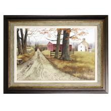 See Details - Textured wood framed print The Road Home