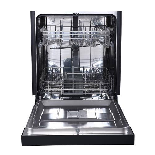 "GE 24"" Built-In Front Control Dishwasher with Stainless Steel Tall Tub Stainless Steel - GBF412SSMSS"