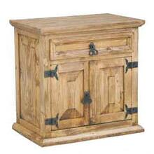 See Details - 1 Drawer 2 Door Night Stand