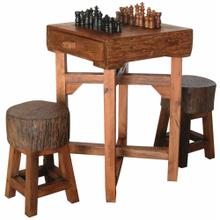 TF-0538-S Hill Country Chess Table