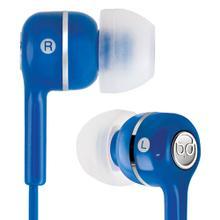 See Details - Blue in-ear stereo headphones by Bell'O Digital